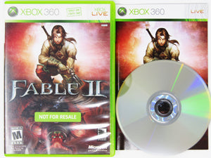 Fable II [Not for Resale] (Xbox 360)