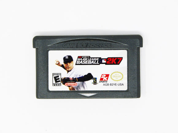 Major League Baseball 2K7 (Game Boy Advance / GBA)