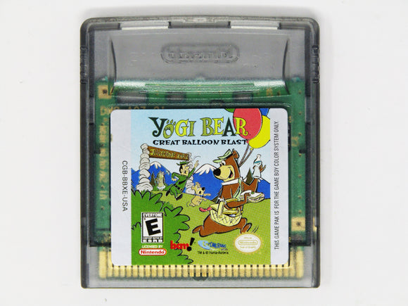 Yogi Bear Great Balloon Blast (Game Boy Color)