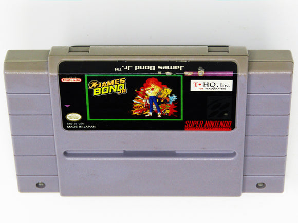 James Bond Jr (Super Nintendo / SNES)
