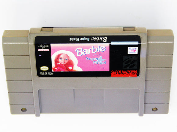 Barbie Super Model (Super Nintendo / SNES)