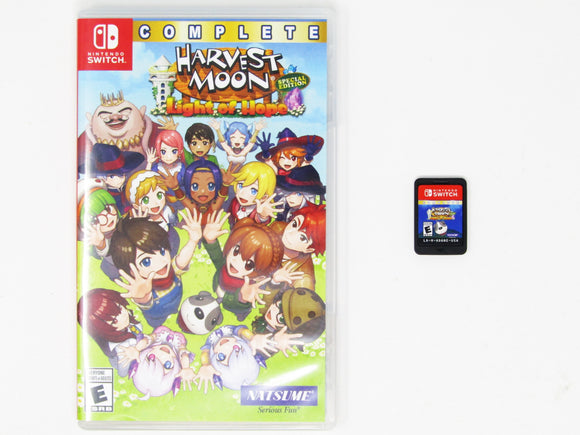 Harvest Moon Light Of Hope [Special Edition Complete] (Nintendo Switch)