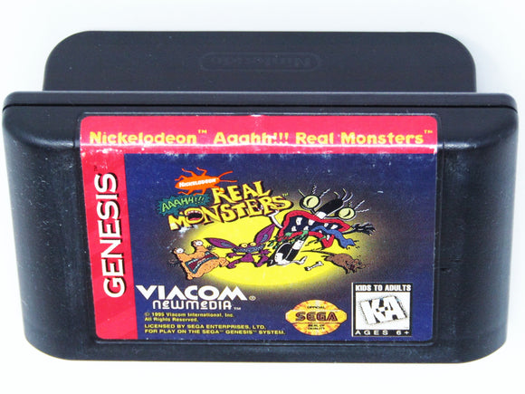 AAAHH Real Monsters (Sega Genesis)