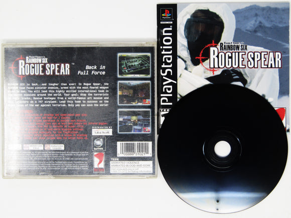 Rainbow Six Rogue Spear (Playstation / PS1)