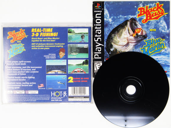 Black Bass/Blue Marlin (Playstation / PS1)
