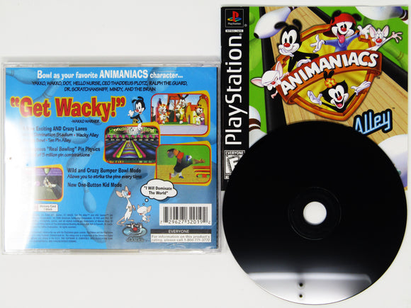 Animaniacs Ten Pin Alley (Playstation / PS1)