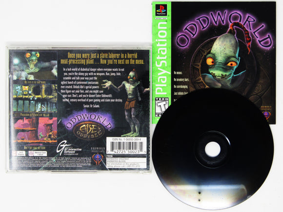 Oddworld Abe's Oddysee [Greatest Hits] (Playstation / PS1)