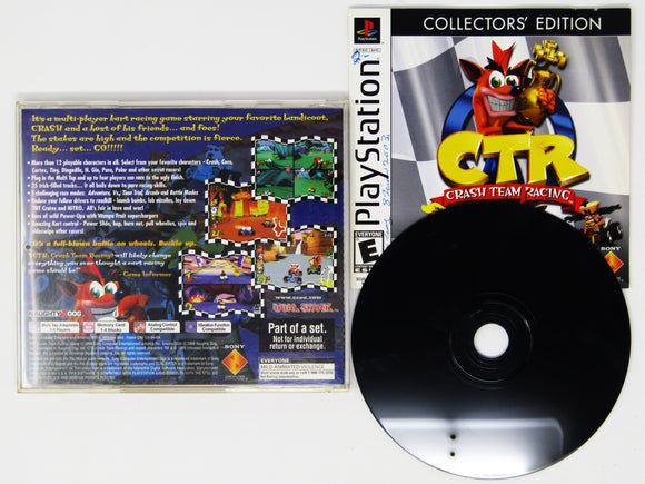 CTR Crash Team Racing [Collector's Edition] (Playstation / PS1)