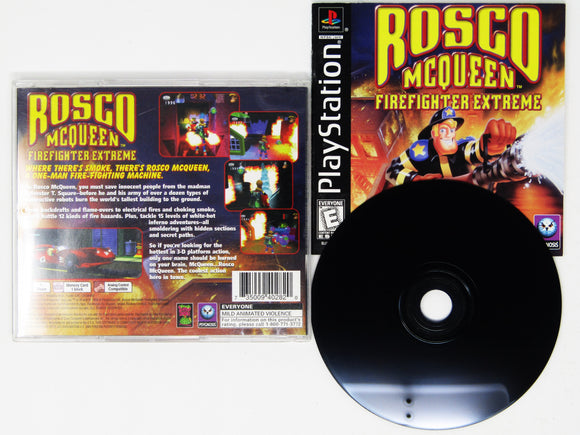 Rosco McQueen Firefighter Extreme (Playstation / PS1)