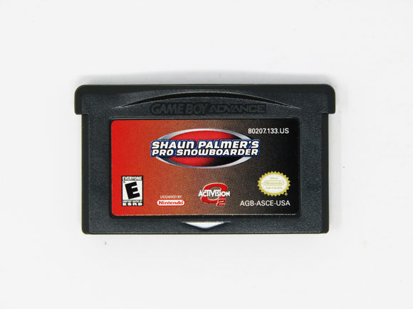 Shaun Palmers Pro Snowboarder (Game Boy Advance / GBA)