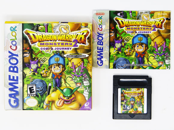 Dragon Warrior Monsters 2 Cobi's Journey (Game Boy Color)