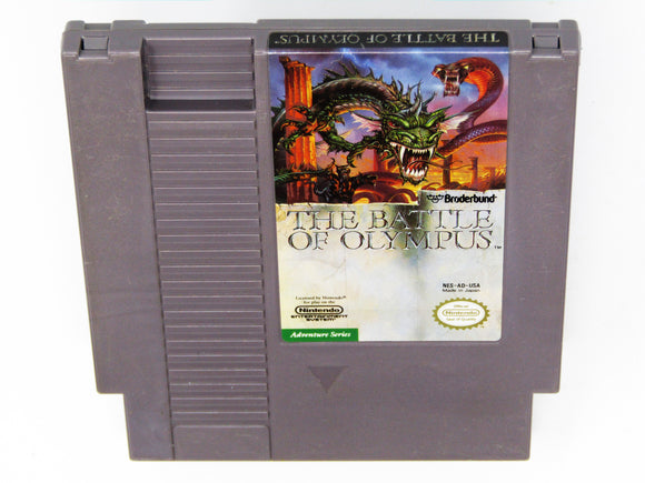 Battle of Olympus (Nintendo / NES)