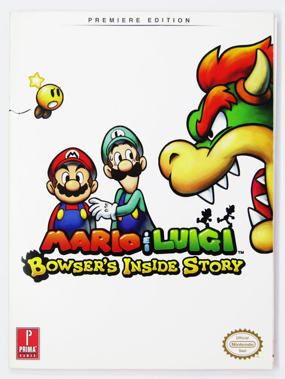 Mario & Luigi: Bowser's Inside Story [Premiere Edition] (Game Guide)