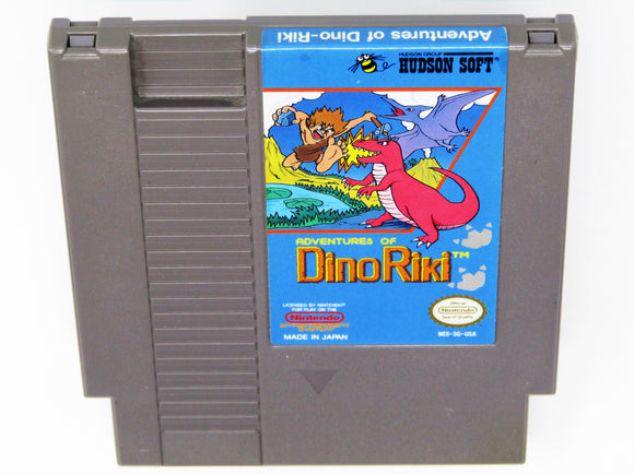 Adventures of Dino Riki (Nintendo / NES)