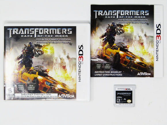 Transformers: Dark Of The Moon Stealth Force Edition (Nintendo 3DS)