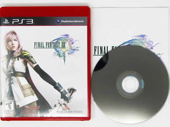 Final Fantasy XIII 13 [Red Label] (Playstation 3 / PS3)