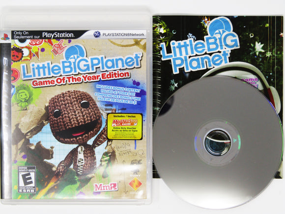 LittleBigPlanet [Game of the Year] (Playstation 3 / PS3)