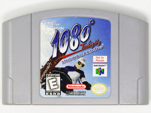 1080 Snowboarding [Not For Resale] (Nintendo 64 / N64)