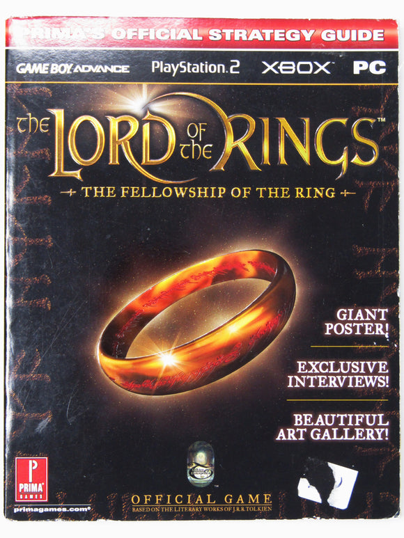The Lord Of The Rings: The Fellowship Of The Ring Official Strategy Guide [PrimaGames] (Game Guide)