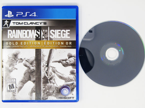 Rainbow Six Siege [Gold Edition] (Playstation 4 / PS4)