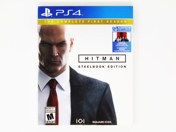 Hitman The Complete First Season [Steelbook Edition] (Playstation 4 / PS4)