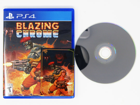 Blazing Chrome (Playstation 4 / PS4)