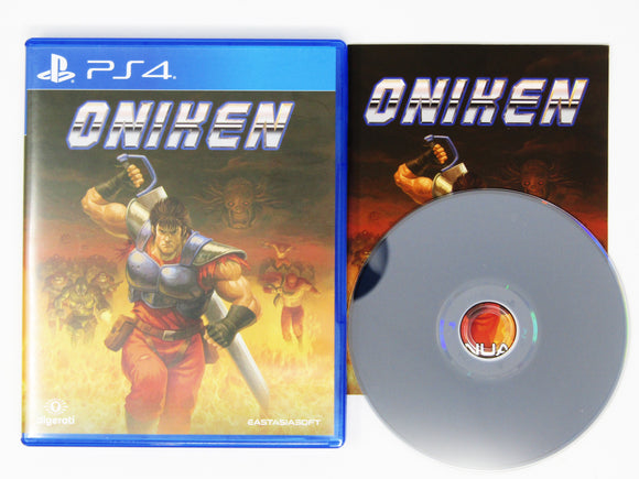 Oniken (Playstation 4 / PS4)