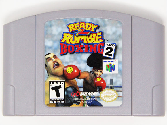 Ready 2 Rumble Boxing Round 2 (Nintendo 64 / N64)