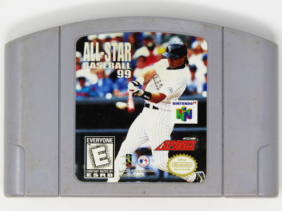 All-Star Baseball 99 (Nintendo 64 / N64)