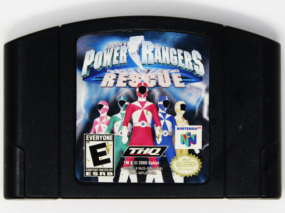 Power Rangers Lightspeed Rescue (Nintendo 64 / N64)