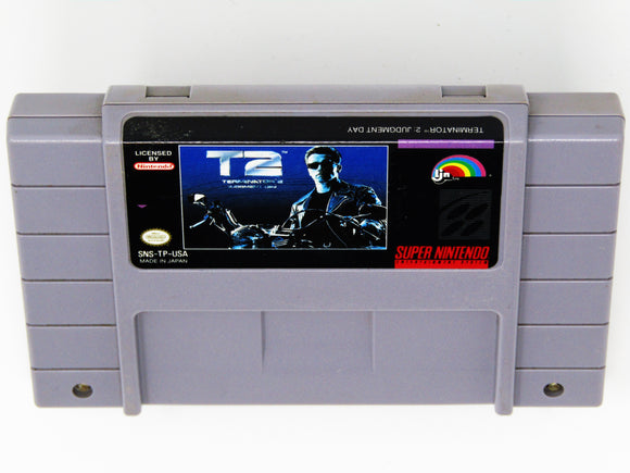 Terminator 2: Judgement Day (Super Nintendo / SNES)