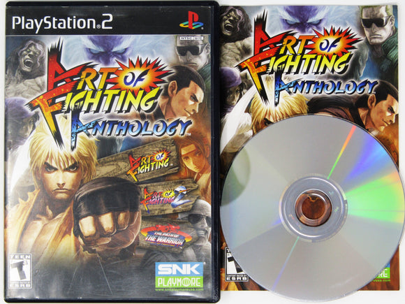 Art Of Fighting Anthology (Playstation 2 / PS2)