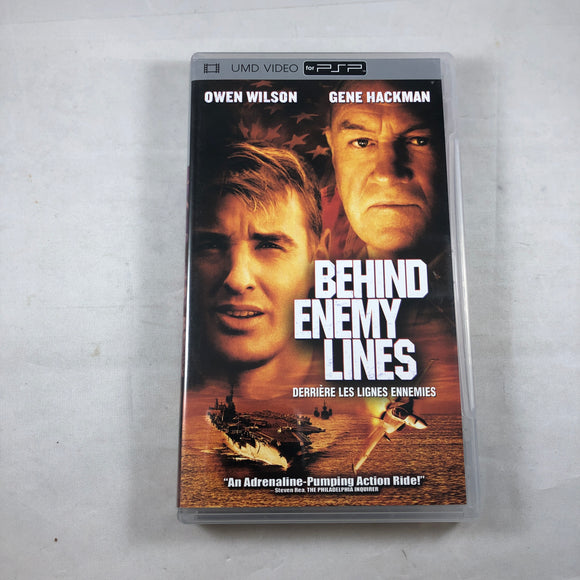 Behin Enemy Lines (UMD Video) (Playstation Portable / PSP)