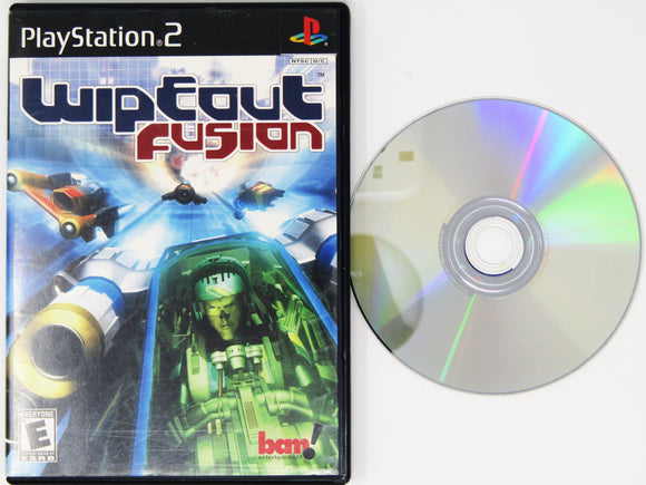 Wipeout Fusion (Playstation 2 / PS2)