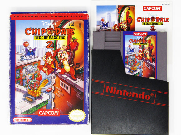 Chip and Dale Rescue Rangers 2 (Nintendo / NES)
