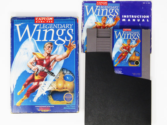 Legendary Wings (Nintendo / NES)