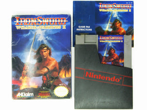 Iron Sword Wizards and Warriors II 2 (Nintendo / NES)