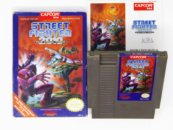 Street Fighter 2010 the Final Fight (Nintendo / NES)
