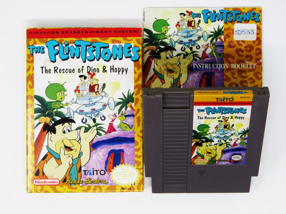 Flintstones The Rescue of Dino and Hoppy (Nintendo / NES)