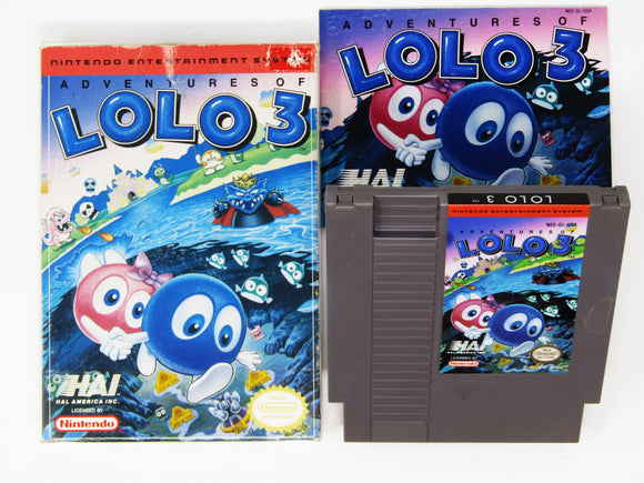 Adventures of Lolo 3 (Nintendo / NES)