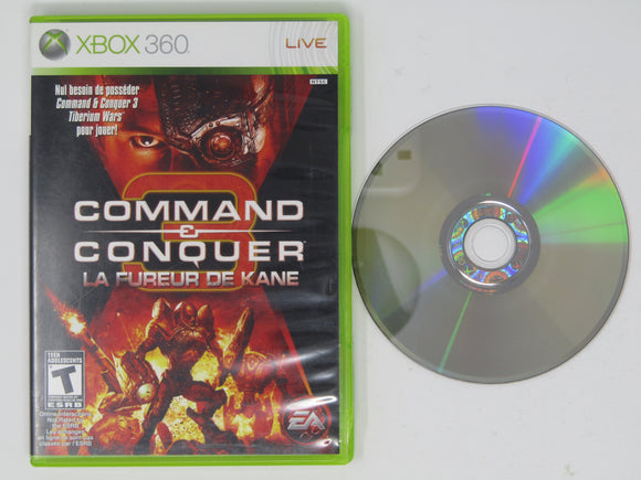 Command & Conquer 3 Kane's Wrath (French version) (Xbox 360)