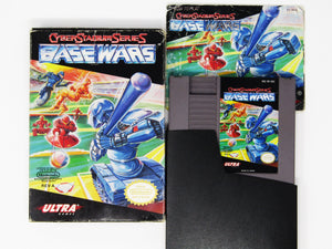 Cyberstadium Series Base Wars (Nintendo / NES)