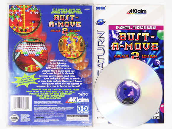 Bust-A-Move 2 Arcade Edition (Saturn)