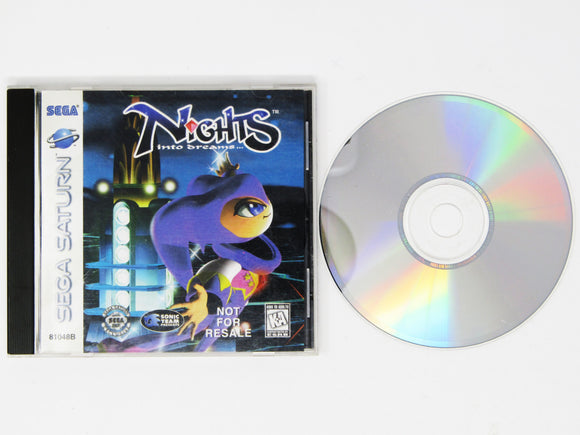 Nights into Dreams [Not for Resale] (Saturn)
