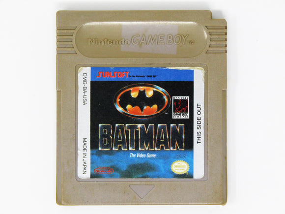 Batman the Video Game (Game Boy)