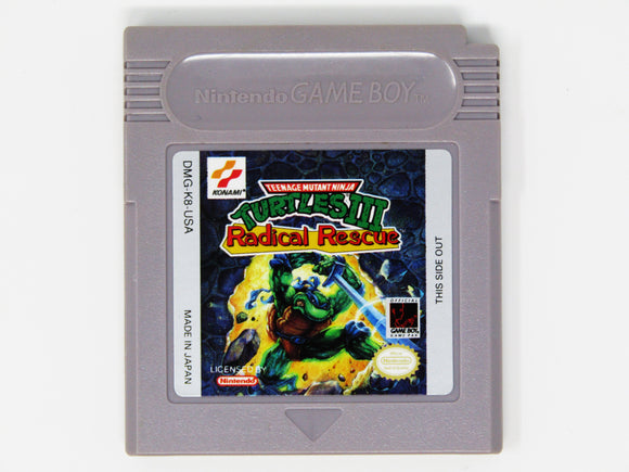 Teenage Mutant Ninja Turtles III Radical Rescue (Game Boy)