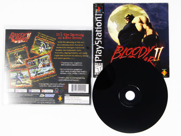 Bloody Roar 2 (Playstation / PS1)