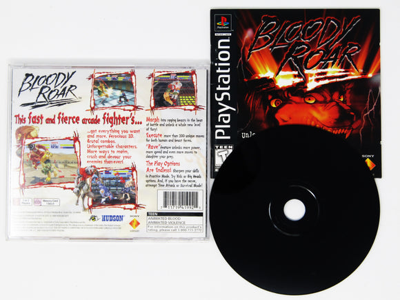 Bloody Roar (Playstation / PS1)
