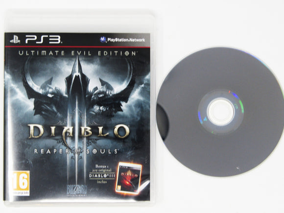 Diablo III Reaper Of Souls [Ultimate Evil Edition] (French Version) (PAL) (Playstation 3 / PS3)