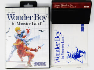 Wonder Boy in Monster Land (PAL) (Sega Master System)